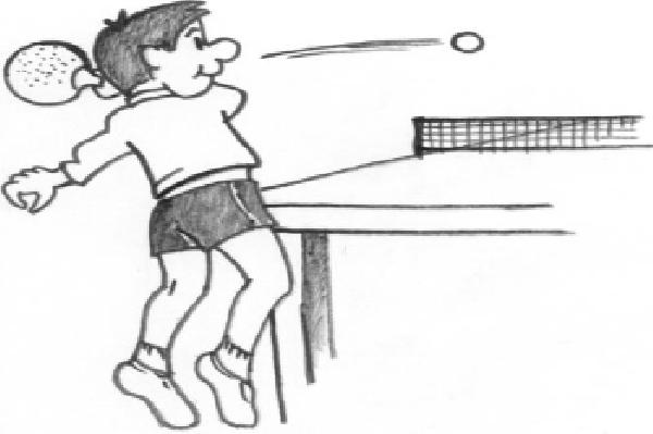Coll ge voltaire - Dessin tennis de table ...